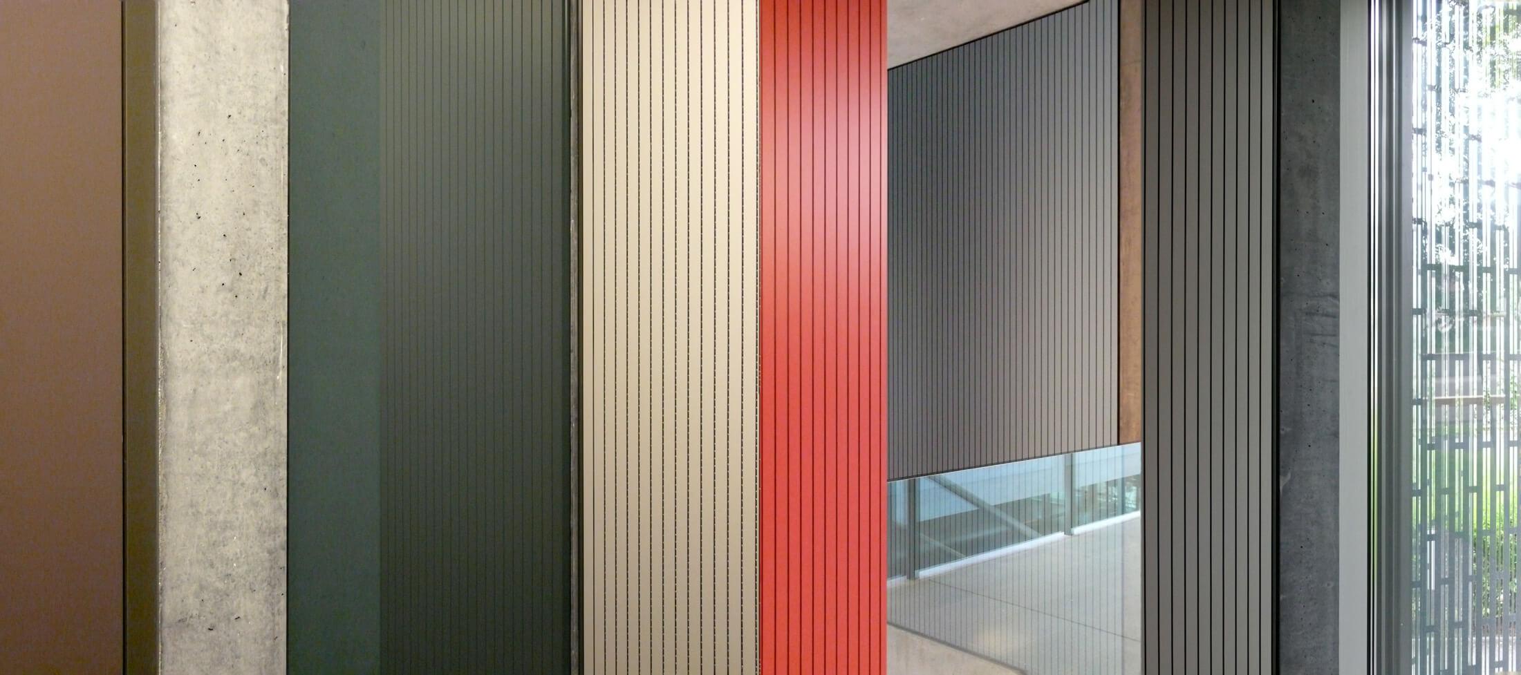 Farbe in den Innenräumen